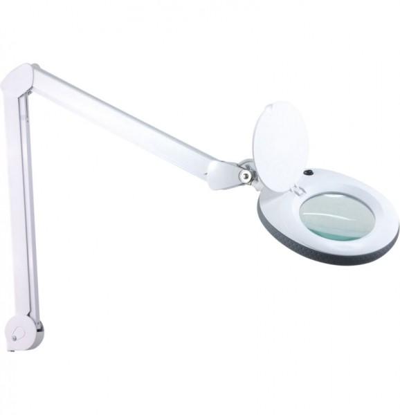 Lupenlampe rund auf Standfuß