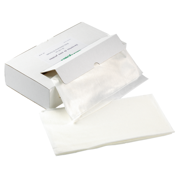 Behandlungstuch weiß, 36 x 60 cm, Box mit 50 Tüchern