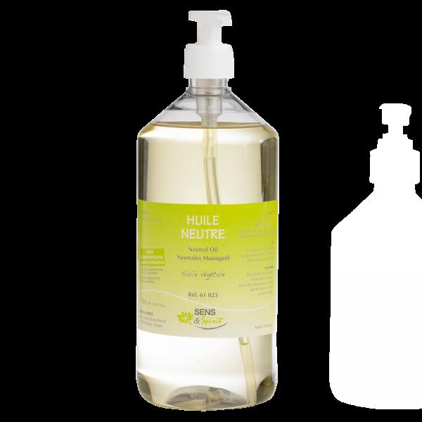 Neutrales Massageöl, Flasche 1 l