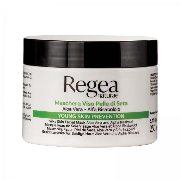 Gesichtsmaske für seidige Haut mit Aloe Vera