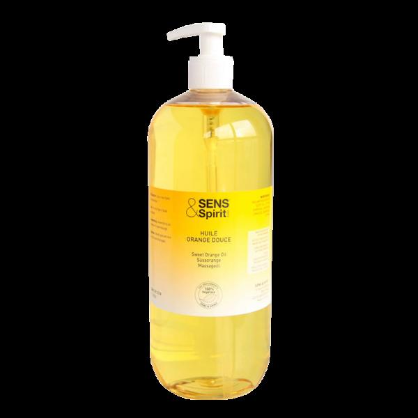 Massageöl Süßorange, Flasche 1 l